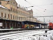 Nádraží Teplice - ilustrační foto.