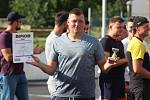 Hokejbalový turnaj v Krupce - nejproduktivnější hráč David Bím