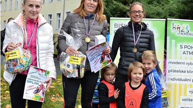 5. ročník Běhu Krupkou věnovali závodníci a hosté teplické porodnici.