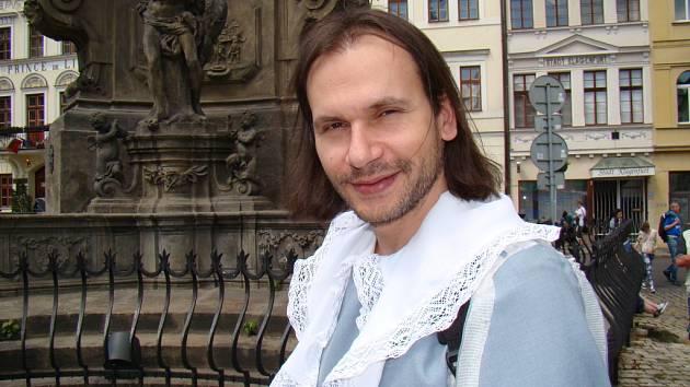 "Organizátor festivalu Jaroslav ""Orry"" Hunka."