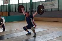 JOSEF GAJDOŠ předvedl  v Nové Roli výkon 90 kg v trhu a 110 kg v nadhozu