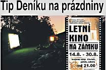 Letní kino v Teplicích