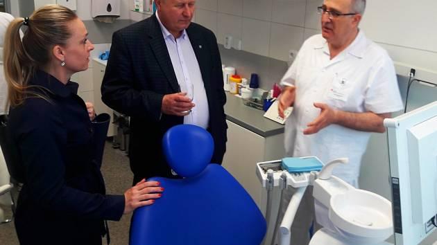 V Bílině v nemocnici začala fungovat zubní pohotovost.