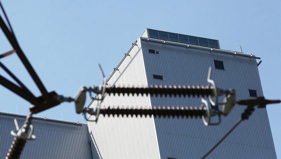 Vyhlídková terasa na budově Ledvické elektrárny.