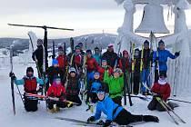 Mladí lyžaři TJ Lokomotiva Teplice