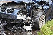 Nehoda u obce Bořislav