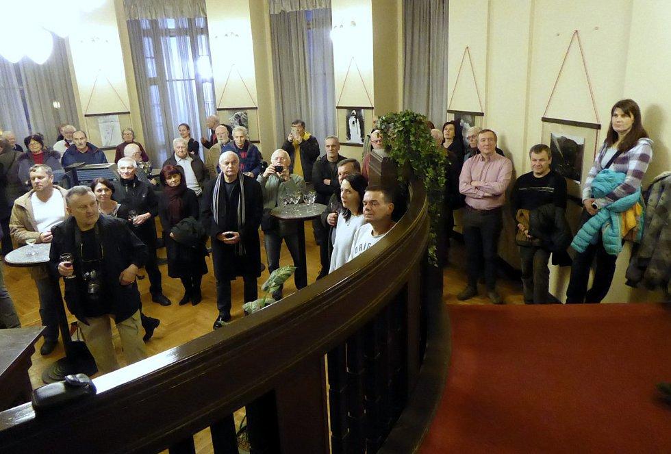 Vernisáž výstavy Návraty I fotografa Jiřího Reissiga. foto: archiv