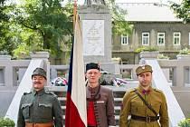 V Modlanech odhalili pomník padlým v I. světové válce.