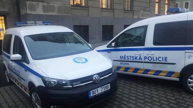 Městská policie Bílina užívá dva nové vozy.