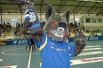 Maskot Balticflory vlk Balfa.