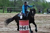 Z rodea v Přítkově na ranči Severní hvězda.