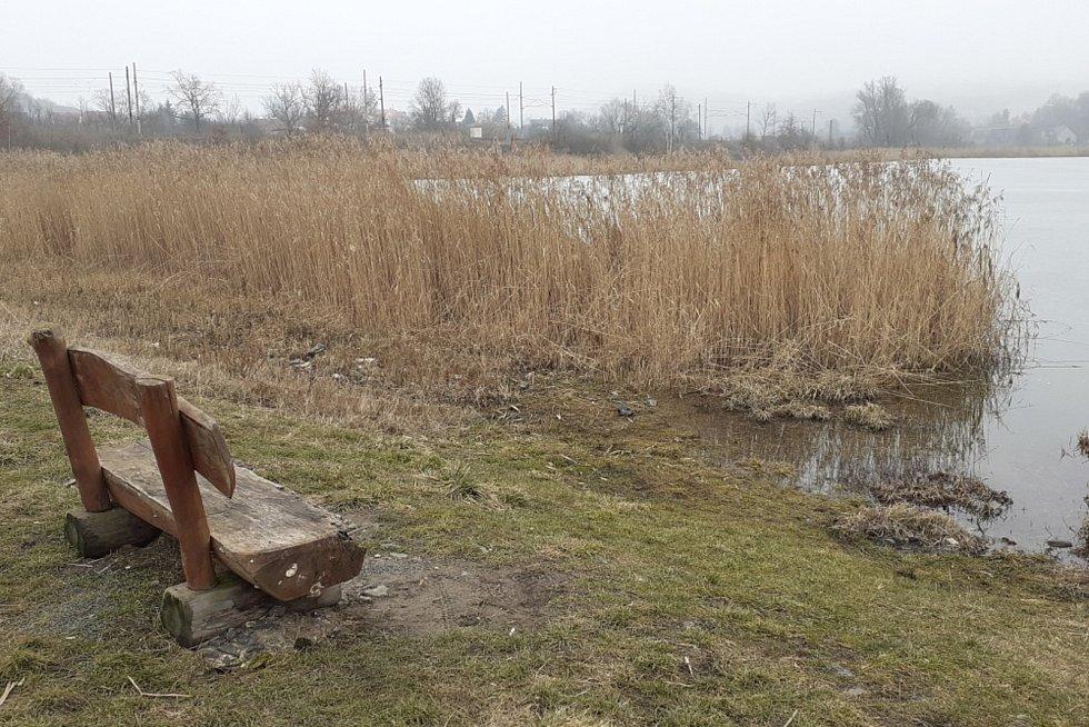 Vodní nádrž Rtyně nad Bílinou, rekreační zóna.