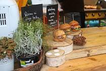 Burger street festival se konal o víkendu u teplické Olympie. Z části propršel, což ovlivnilo návštěvnost.