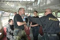 Námětové cvičení společných česko – německých hlídek cizinecké policie