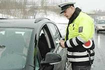 Dopravní policie v akci