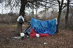 Tepličtí bezdomovci.