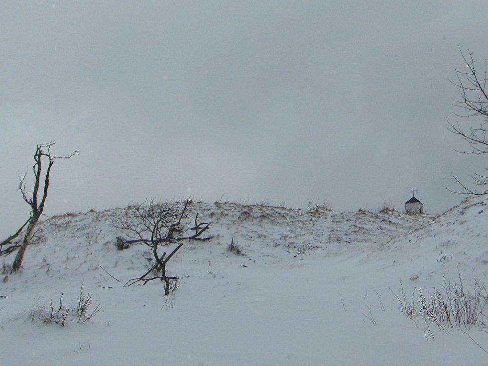 Komáří vížka a celé Krušné Hory se dočkaly pravé zimy.