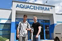 Otevření Aquacentra Teplice. Návštěvníci mohou využívat saunu a plavecký bazén, k tomu další služby jako je například fitness.