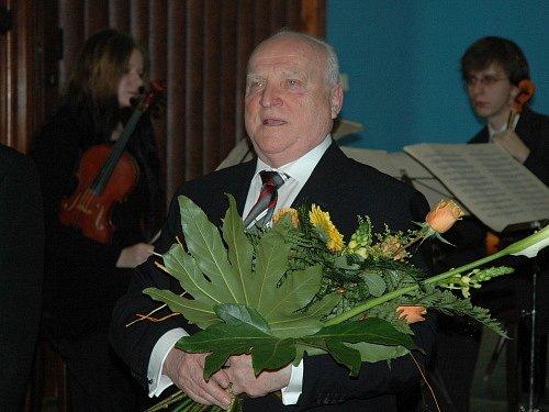 Slavnostní předání čestného občanství Vladimíru Feixovi