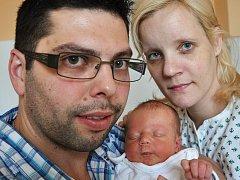Mamince Petře Minaříkové z Meziboří se 26. ledna v 6.53 hod. v teplické porodnici narodil syn Adam Babej. Měřil 49 cm a vážil 3,15 kg.