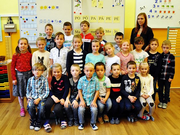 Na fotografii jsou žáci ze ZŠ Metelkovo náměstí, Teplice, 1.C třída paní učitelky Veroniky Sedláčkové.