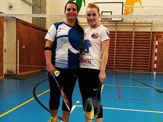 Na snímku Jindřiška Šemberová(vlevo) a Fabiana Bytyqi.