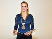 Z ustavujícího zastupitelstva v Bílině, starostka Zuzana Schwarz Bařtipánová