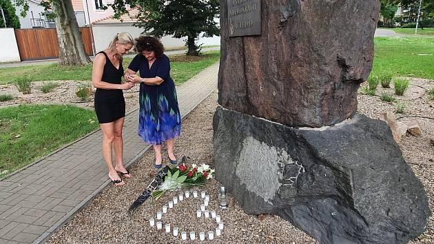 V Bílině uctili památku Milady Horákové