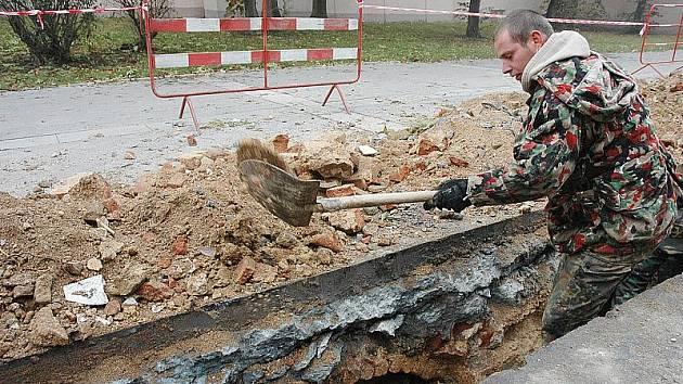 Archeologové v Teplicích