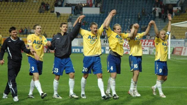 Z utkání Fk Teplice proti Viktorii Plzeň