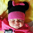 Pavlína Korcová se narodila Pavlíně Korcové z Bíliny 4. října  v 5.11 hod. v teplické porodnici. Měřila 50 cm a vážila 3,7 kg.