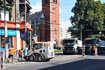 Rekonstrukce Masarykovy ulice v Trnovanech vstoupila do druhé fáze.