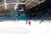 ZIMNÍ STADION, kde sídli hokejový klub Pelicans Lahti.