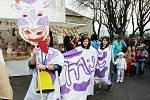 Vítání jara v obci Hrob