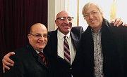 Na snímku zleva Roberto Montenegro, Daniel Doura, Alejandro Roemmers