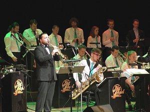 S Big bandem teplické konzervatoře hrál Felix Slováček ml.