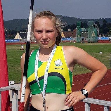 Lucie Schneiderová na Olympiádě dětí a mládeže