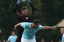 V Chlumci se hrálo předkolo MOL Cupu, Srbice na penalty vyřadily třetiligové Brozany.