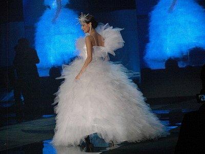 Fashion show 2007, salon Moravec a kolekce společenských šatů