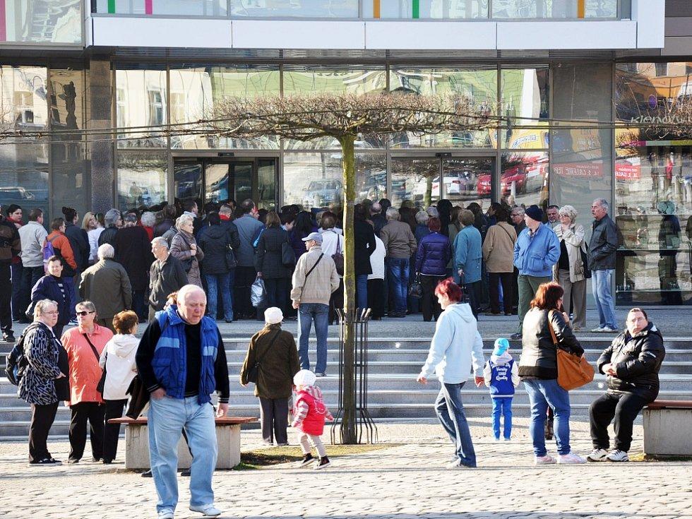OC Galerie Teplice (oficiální otevření)