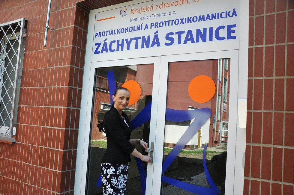 Protialkoholní záchytná stanice v Teplicích, než došlo k jejímu otevření. Provoz byl zahájen v květnu 2019.