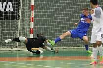 Před dvěma týdny Teplice doma Mělník porazily 7:0, v odvetě ale neuspěly a padly. Ilustrační snímek.