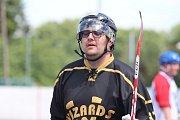 Hokejbalový turnaj v Krupce - Marcel Holl