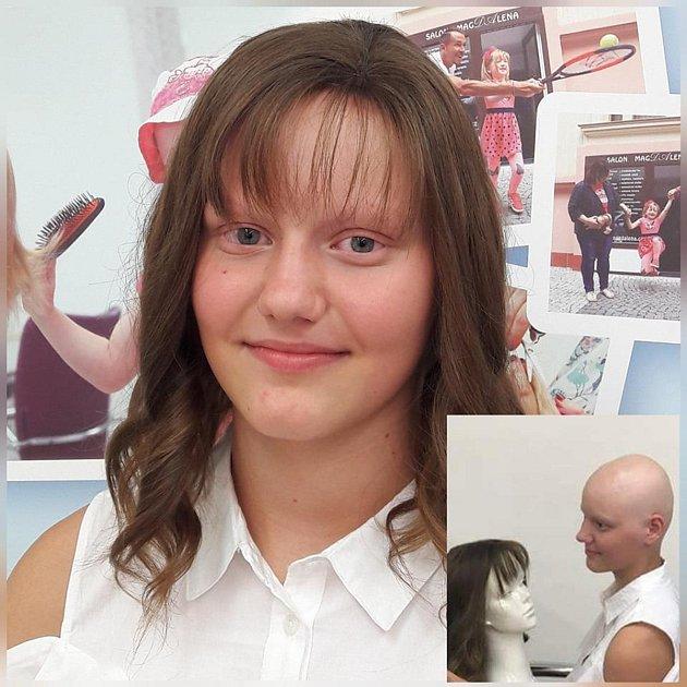 Pramen pomoci předal nemocným alopecií už 8paruk a chce pomáhat dalším.