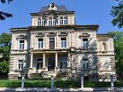 Takto to vypadá dnes. Vila Birnbaum v Lípové ulici v Teplicích.