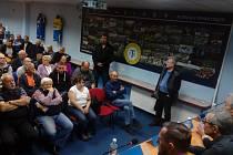 Setkání zástupců FK Teplice s fanoušky