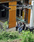 Výlet lanovkou na Komáří vížku obyvatel obce Háj u Duchcova a občanů německého družebního města Kreischa