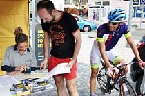 Teplice byly zastávkou na trase Opel handy cyklo maratonu