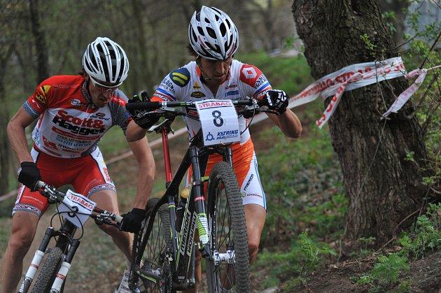 Bikeři v Teplicích při 1. kole ČP
