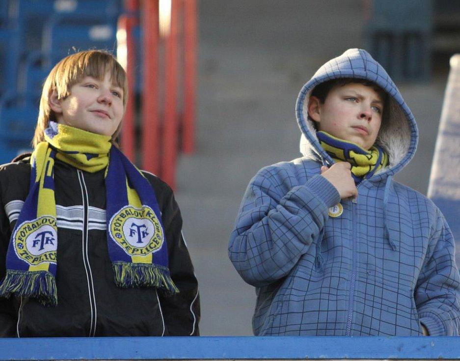Fanoušci na zápasy Teplice - Karlovy Vary